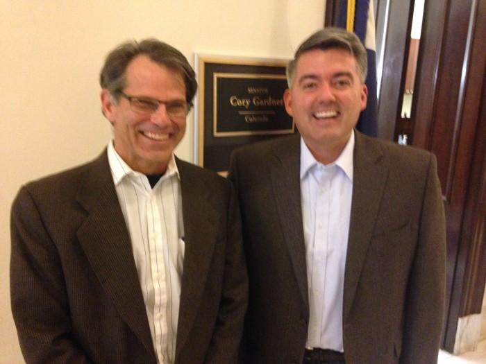 Dr. Brad Olwin & Sen. Gardner